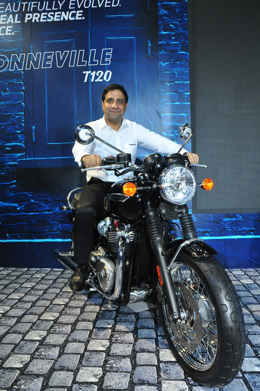 Vimal Sumbly on Bonneville T120