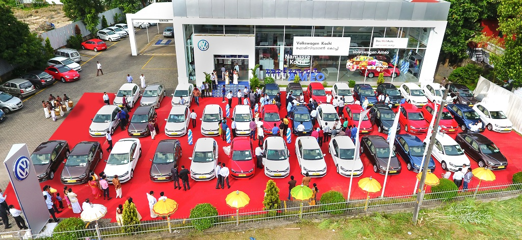 Volkswagen India Marks Record Delivery In The State Of Kerala On The