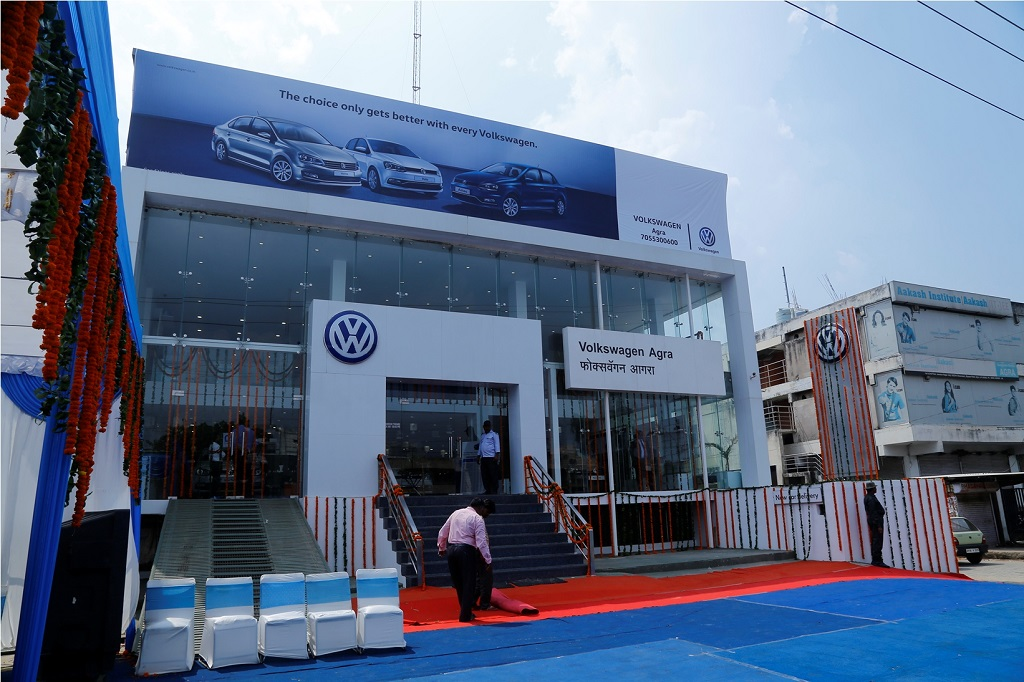 Volkswagen New Dealership 'Volkswagen Agra' at 7/52 B Nagla Jawahar, Bye Pass Road, Agra – 282005