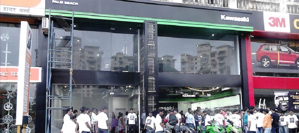kawasaki-mumbai-showroom