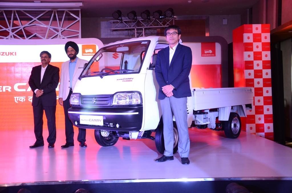 Maruti Suzuki Unveils Super Carry In Ahmedabad