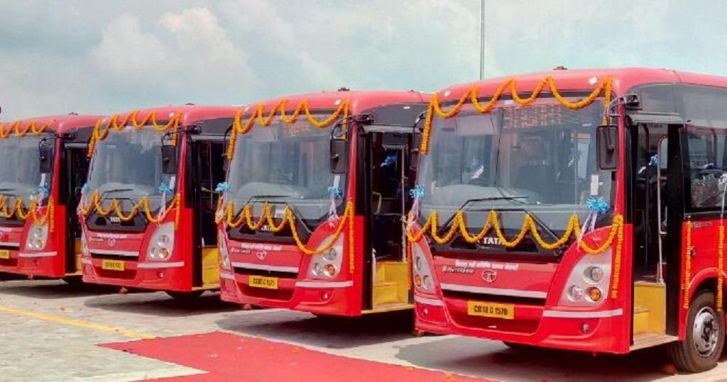 tata-motors-delivers-10-ac-buses-in-bilaspur