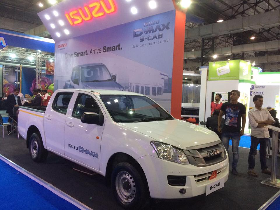india-cold-chain-show-2016_isuzu-d-max-s-cab-display