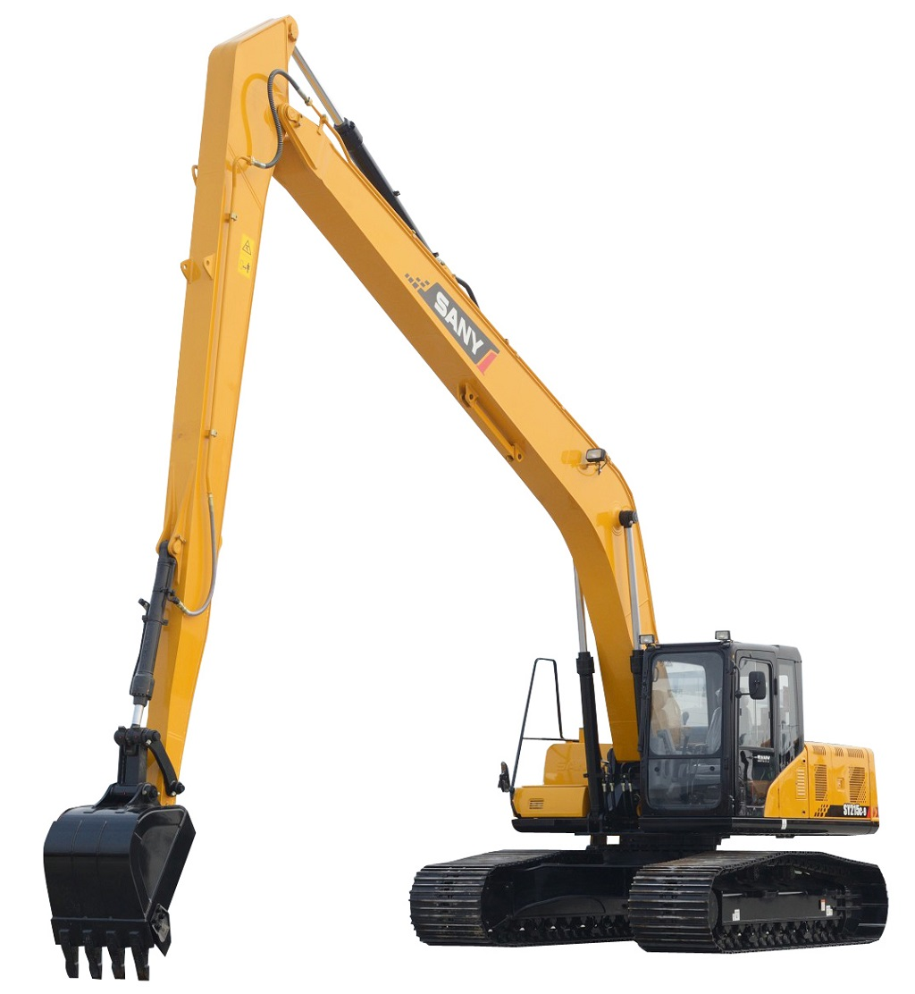 sanys-long-reach-excavator