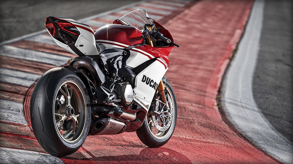 Just 500 units available worldwide: the Ducati 1299 Panigale S Anniversario.