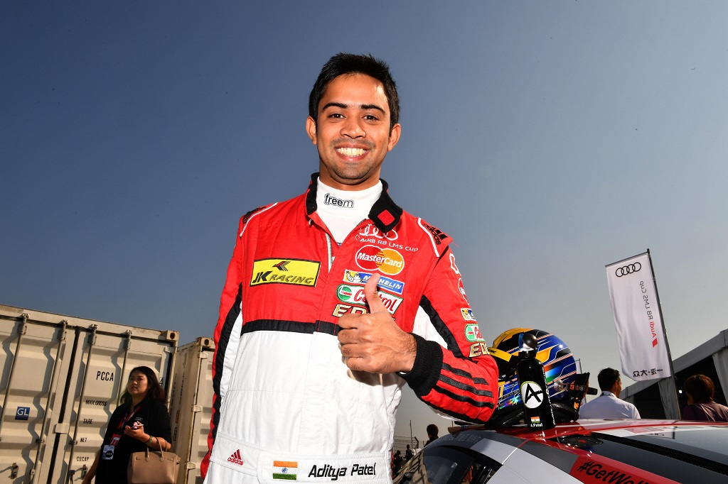 Aditya Patel (IND) Team Audi R8 LMS Cup at Audi R8 LMS Cup, Rd11 and Rd12, Shanghai International Circuit, Shanghai, China, 4-5 November 2016.