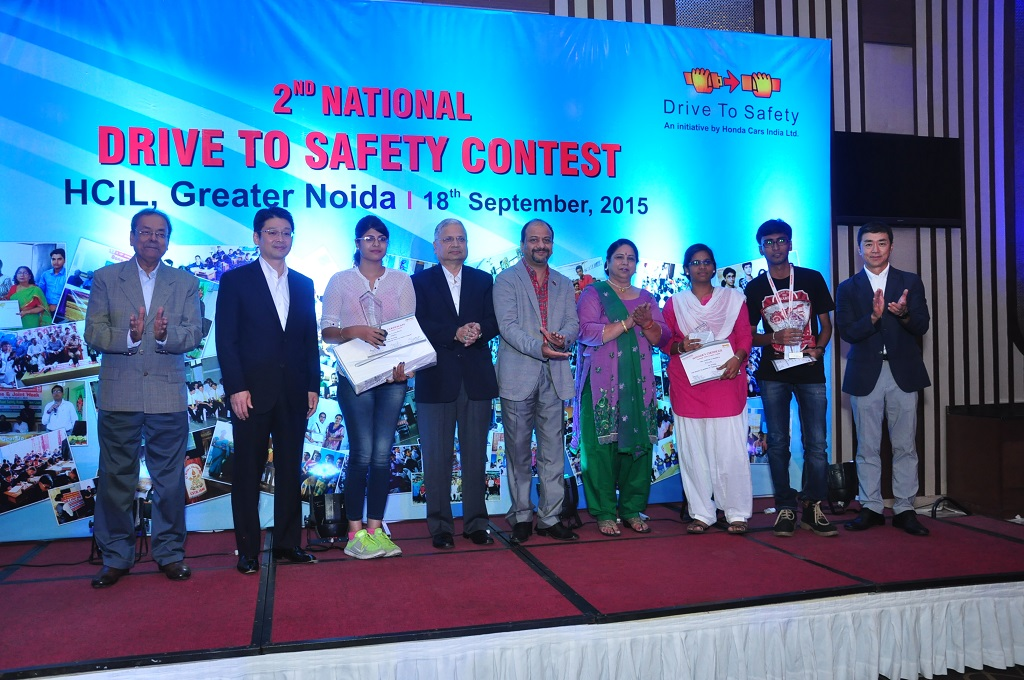 Honda Cars India Ltd Promotes Its Drive To Safety Campaign Auto