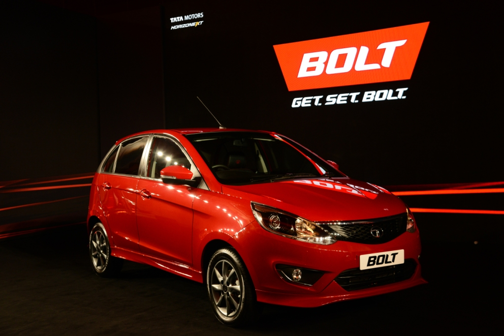 Bolt from Tata Motors, the latest addition to the hatchback segment with first in class features was launched today in Mumbai. The new sporty hatchback is available at a starting price of INR 4.65 Lakhs, ex-showroom, Mumbai, for the Revotron (petrol) 1.2T and starts at INR 5.75 Lakhs, ex-showroom, Mumbai, for the diesel variant