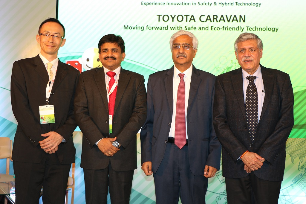 toyota-kirloskar-motor-leads-the-crusade-for-a-safer-and-cleaner-india-through-toyota-caravan