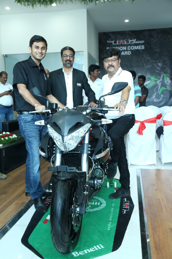 DSK Benelli Launches its first showroom in Chandigarh