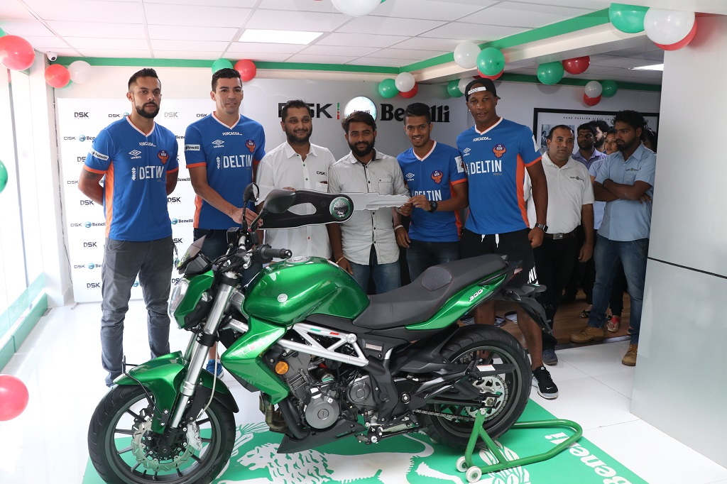 Dsk Benelli Sells 151 Superbikes Within One Year In Goa