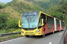 scania-unveils-first-bi-articulated-euro-6-gas-bus