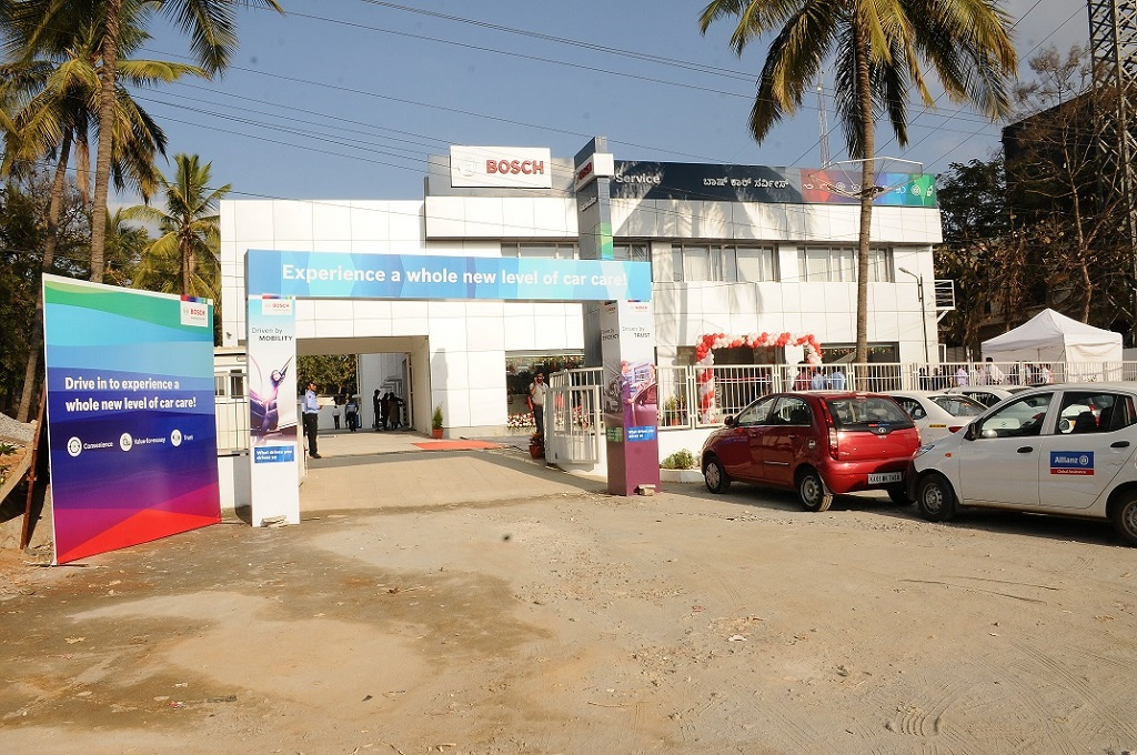 Bosch Automotive Aftermarket Inaugurates Its First Fully Owned - Cool cars service centre