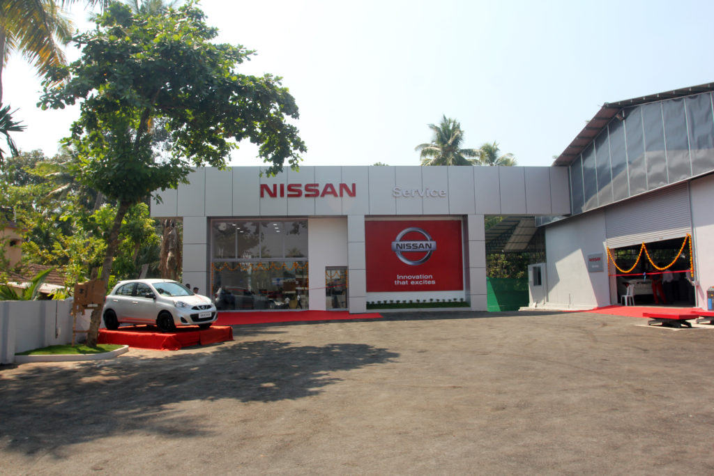 Nissan India Strengthens Its Aftersales Presence In Kochi With New - Cool cars service centre