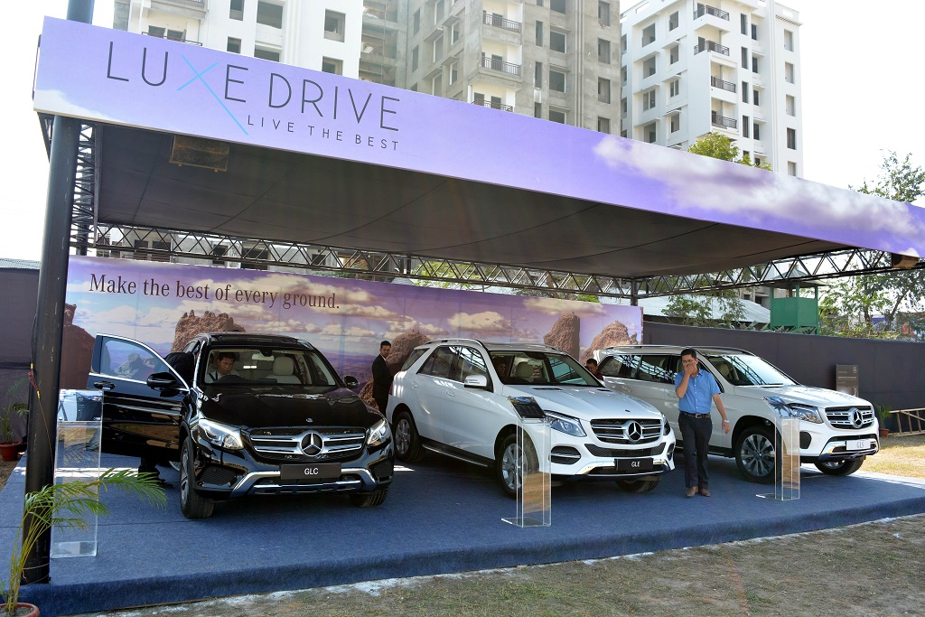 Mercedes Benz Kick Starts Luxe Drive From Guwahati In Style