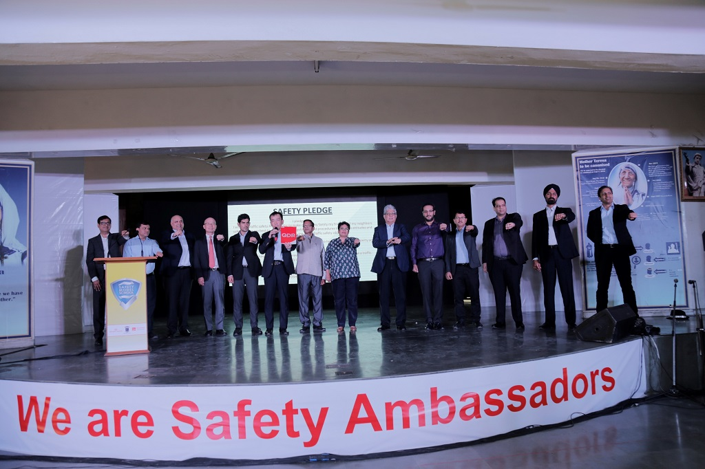 Galaxy Toyota launches Road Safety Project for school children in
