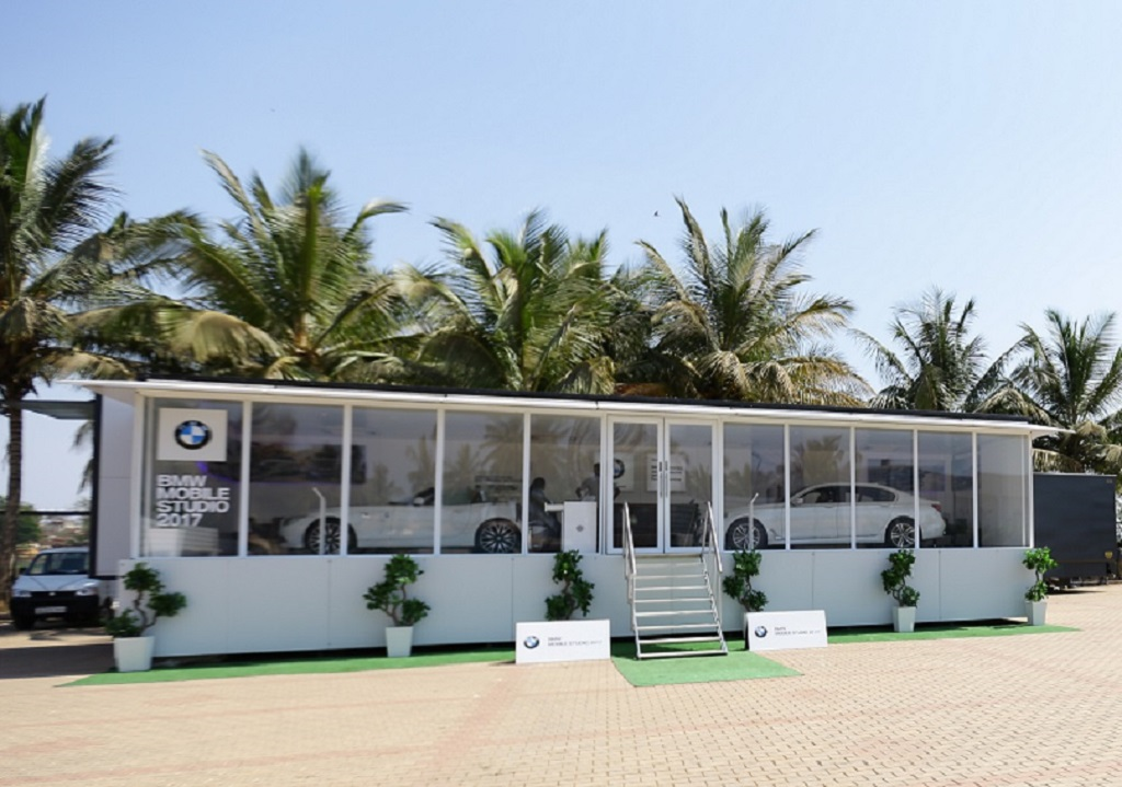 Goa to witness the dynamic bmw range at bmw mobile studio for Mobile studio