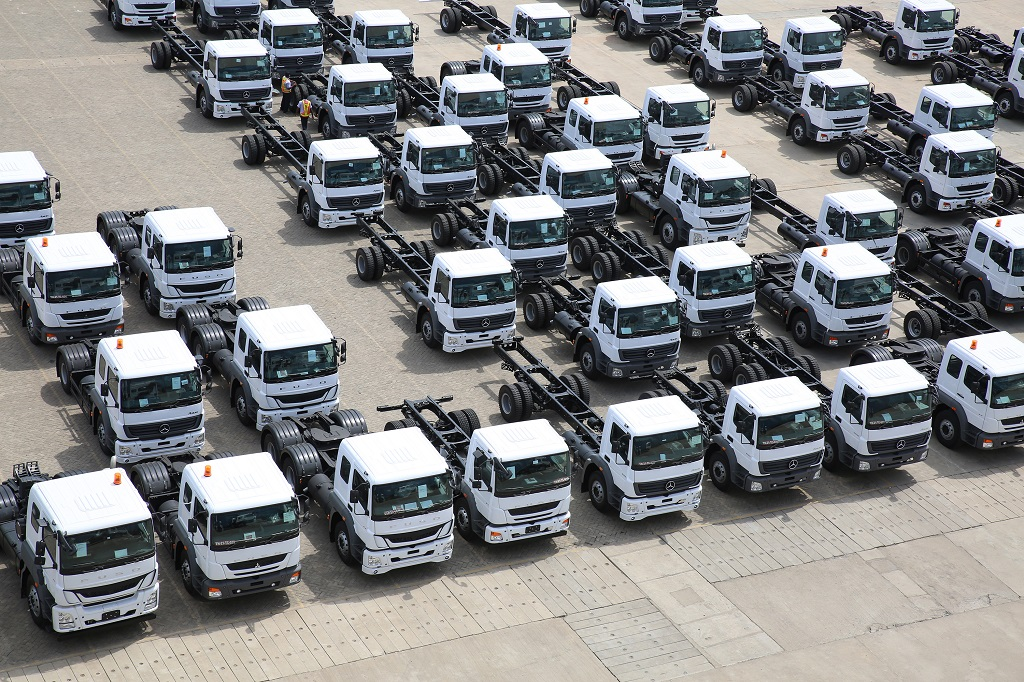 Daimler India Commercial Vehicles Crosses Export Mark Of