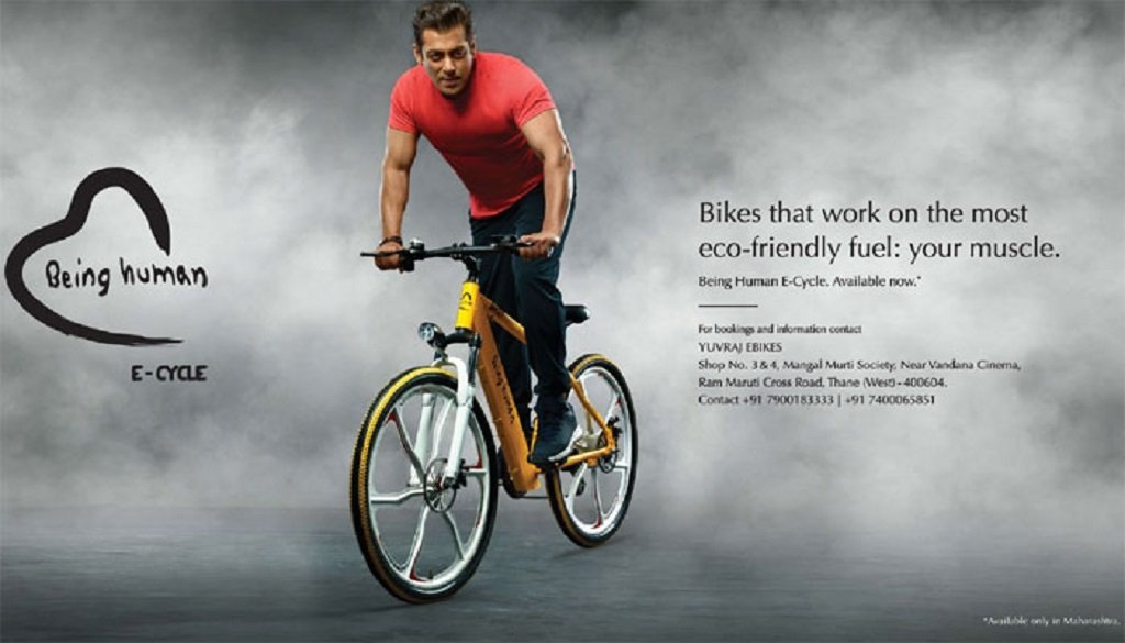 Salman Khan Introduces Being Human E Cycles On World Environment Day