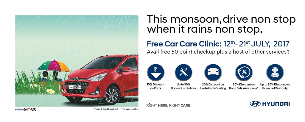 Hyundai Extended Warranty >> Hyundai Motor India Ltd Announces 24th Free Car Care Clinic Auto