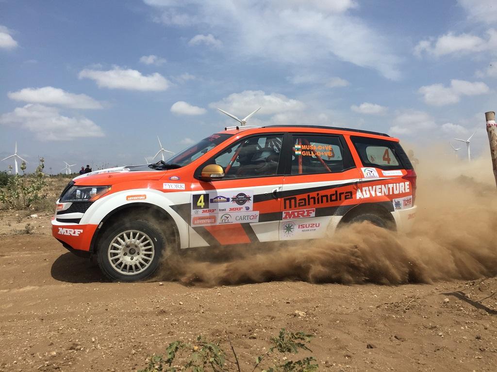 Mahindra Adventure S Win At The India National Rally Championship 2017 Auto News Press