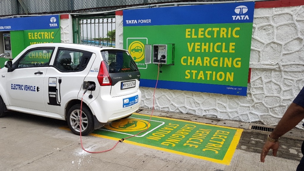 Tata power launches electric vehicle charging - General electric india corporate office ...