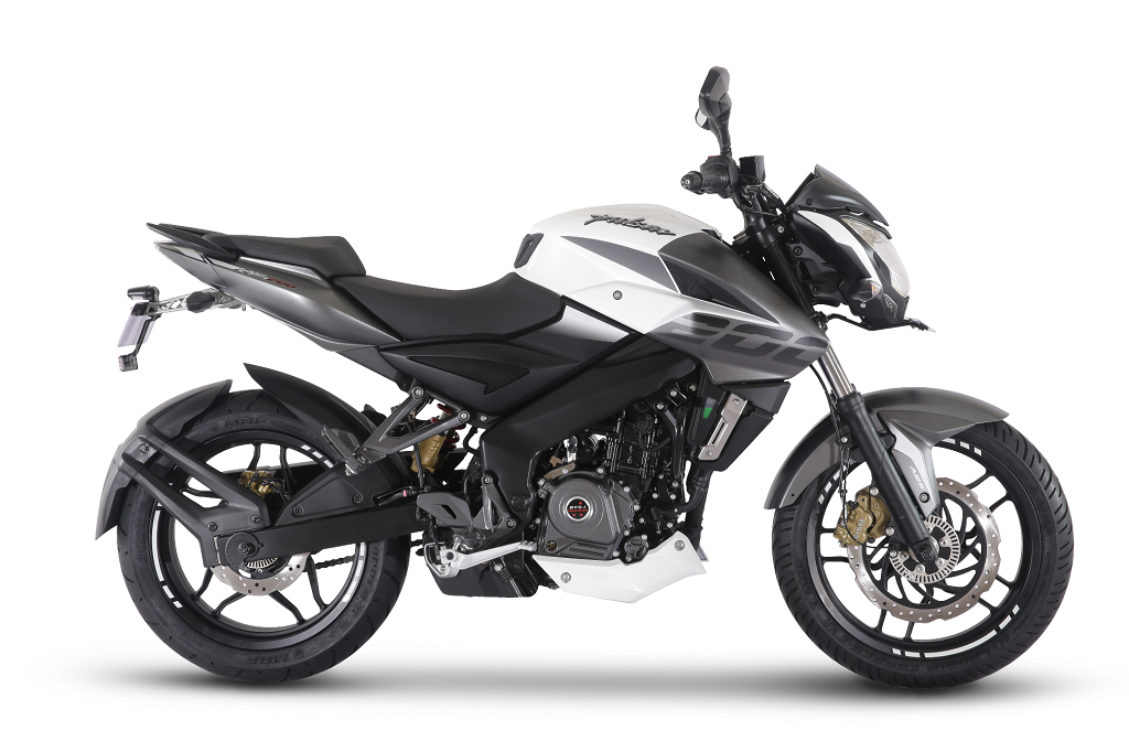 bajaj auto introduces pulsar ns 200 with abs auto news press. Black Bedroom Furniture Sets. Home Design Ideas