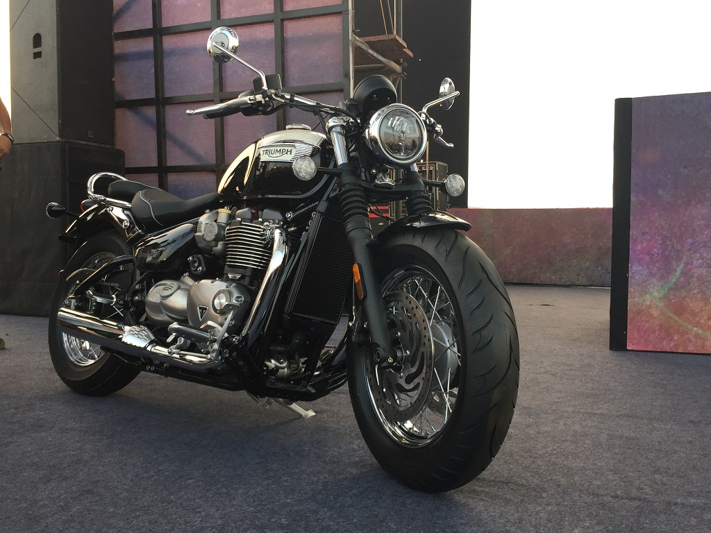 Triumph Motorcycles storms India Bike Week 2017 celebrating its ...