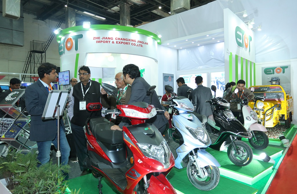 Image result for electric vehicle expo delhi 2018
