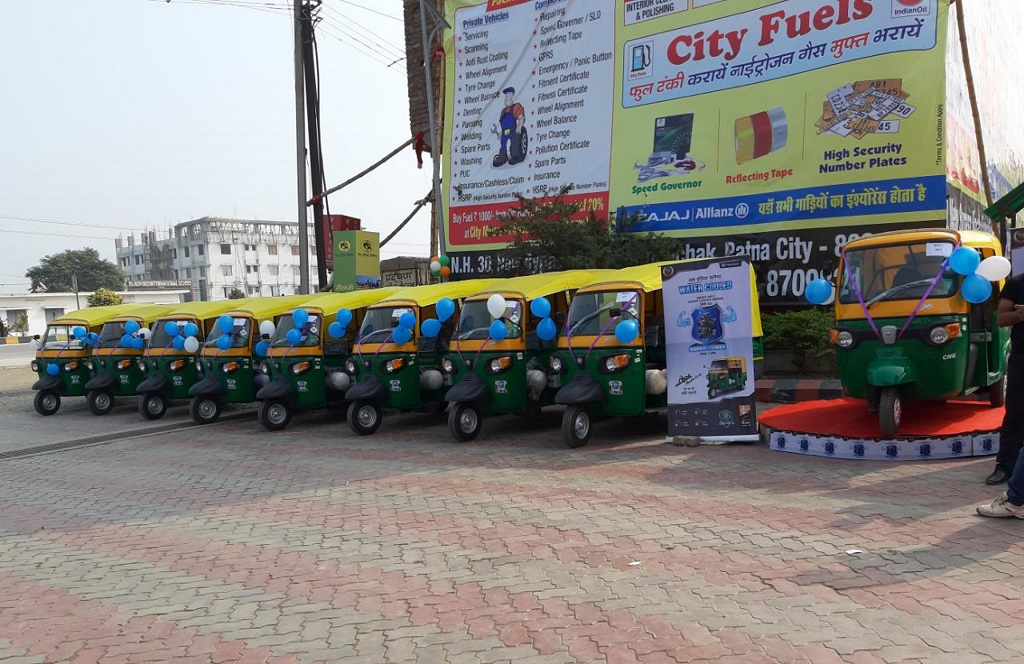 Piaggio is ready with the range of CNG Products for Patna