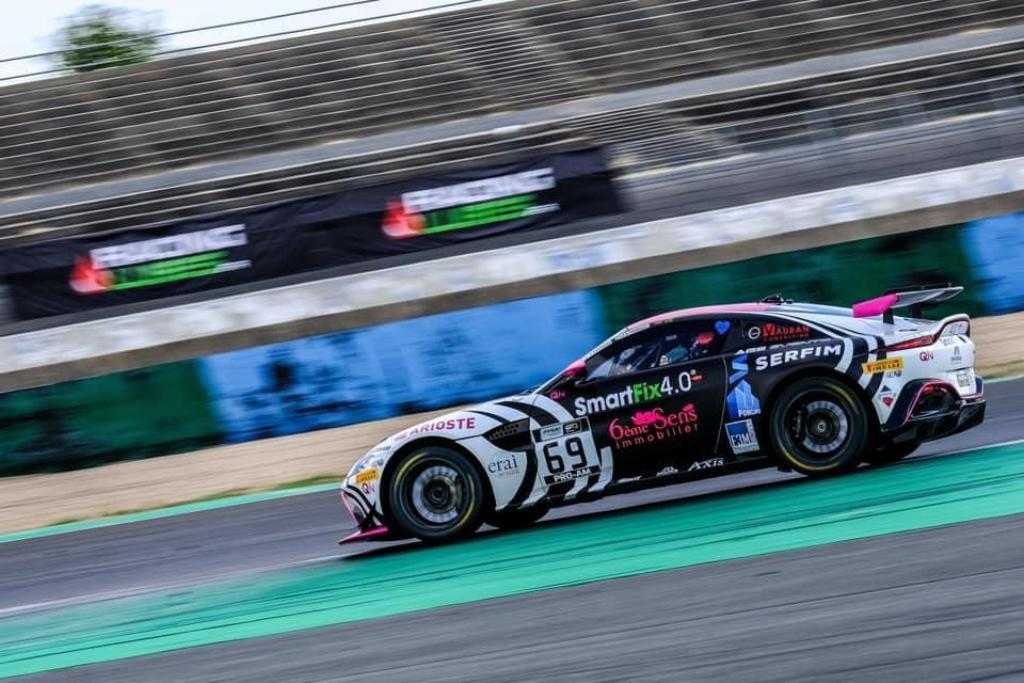 Aston Martin Racing Driver Academy's Akhil Rabindra finishes fourth in Race 1 at Magny- Cours (1)